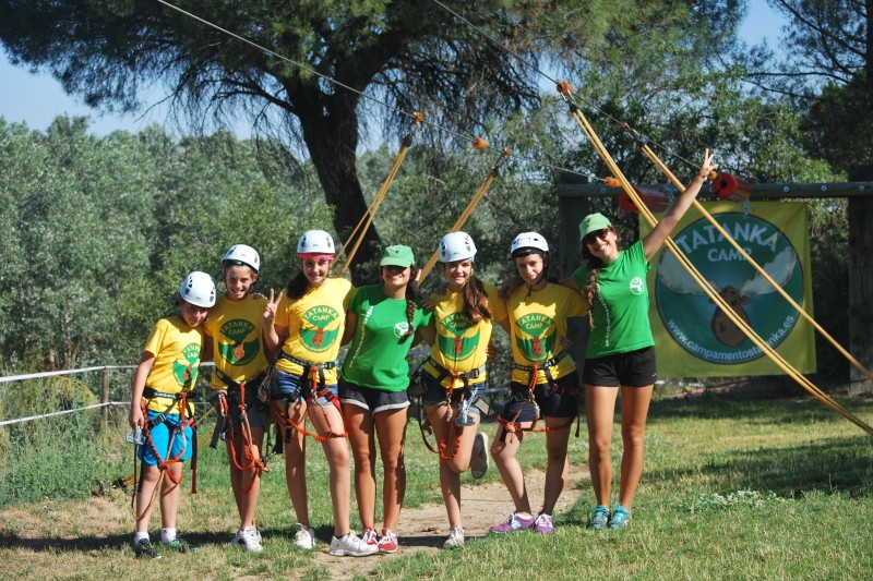 "Imagen Secundaria de TATANKA CAMPS ADVENTURE ""English, Spanish and French"" 19"