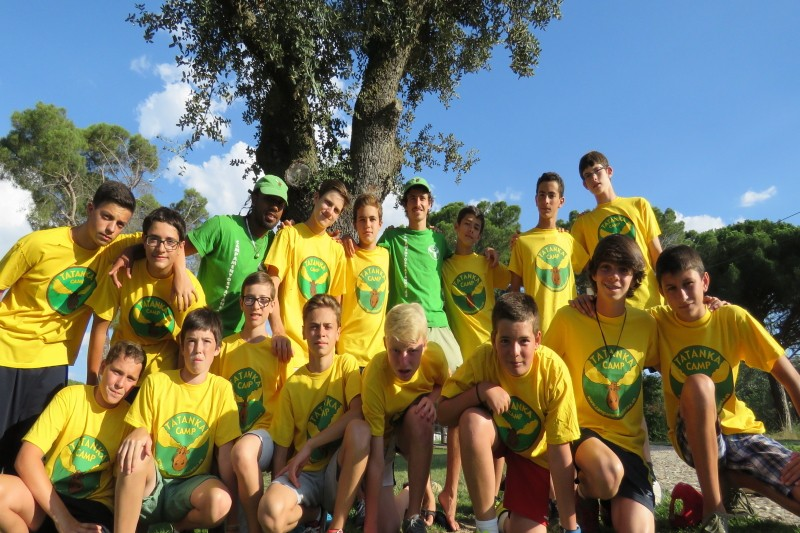 "Imagen Secundaria de TATANKA CAMPS ADVENTURE ""English, Spanish and French"" 40"