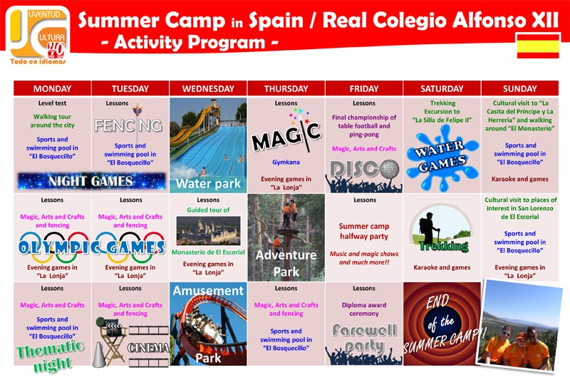 Imagen Secundaria de Juvycult  Spanish Camp in Madrid - Summer Camp in Spain 12